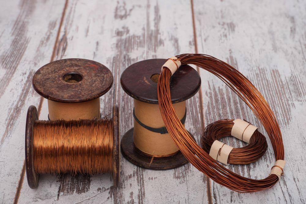 fly tying copper wire