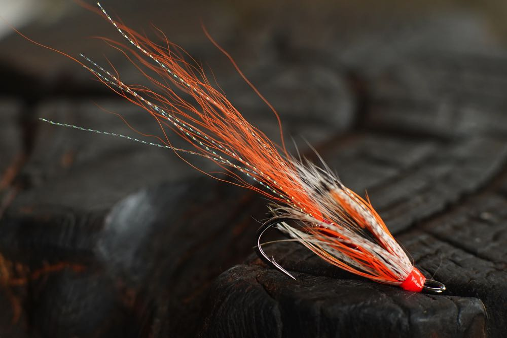 Top Hair Wing Salmon Fly