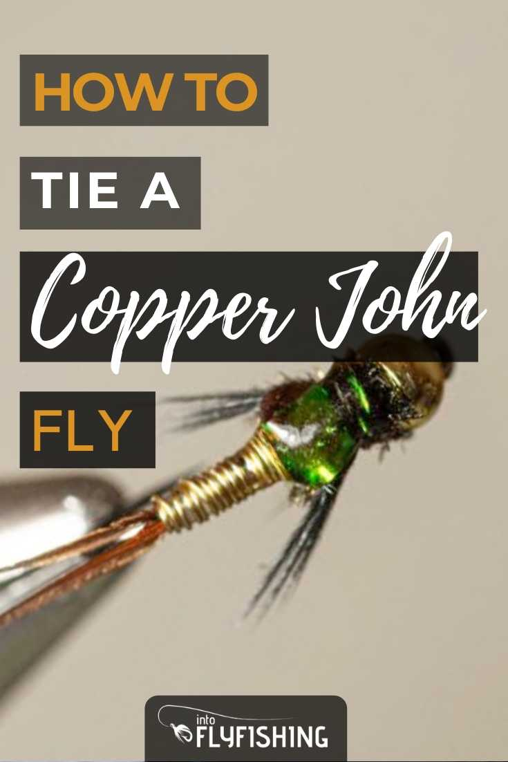 How To Tie A Copper John Fly