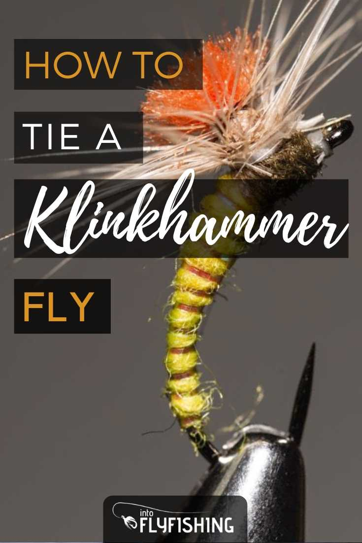 How To Tie A Klinkhammer Fly
