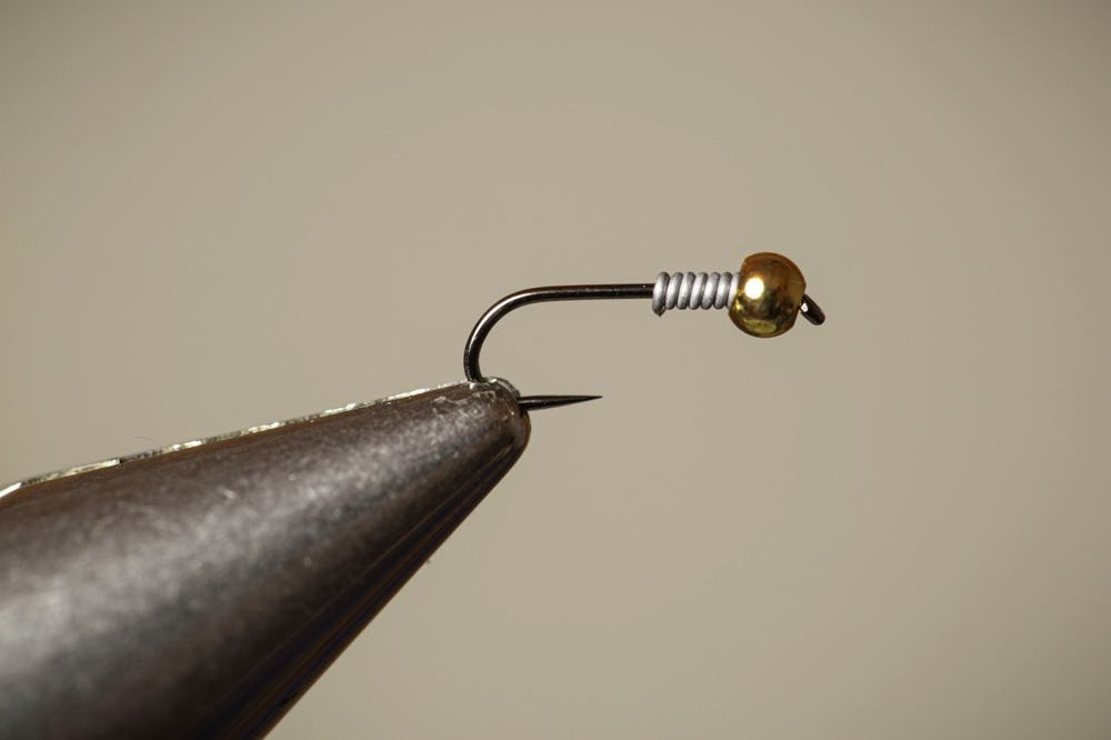 How To Tie a Copper John Step 3