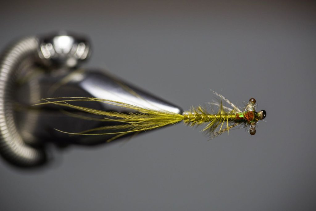 How To Tie a Damsel Fly Larva