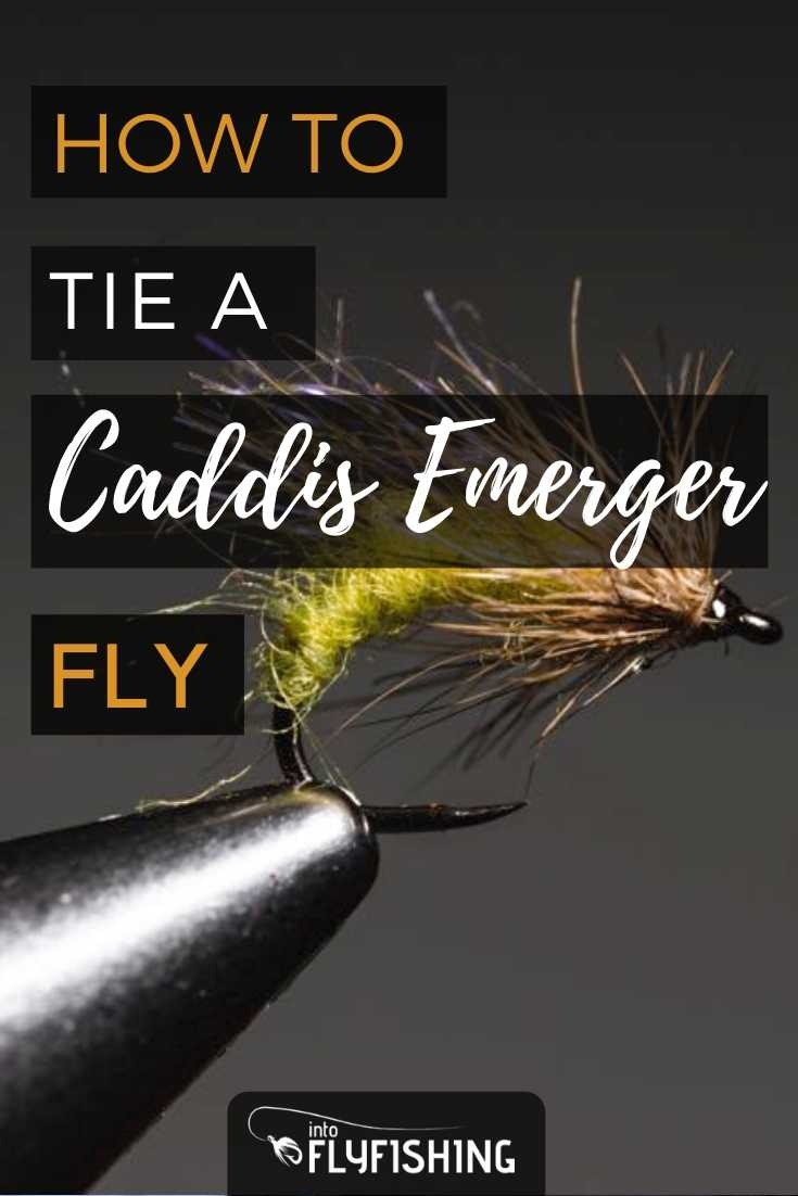 How to Tie a Caddis Emerger Fly