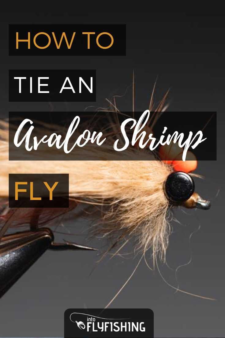 How to Tie an Avalon Shrimp Fly