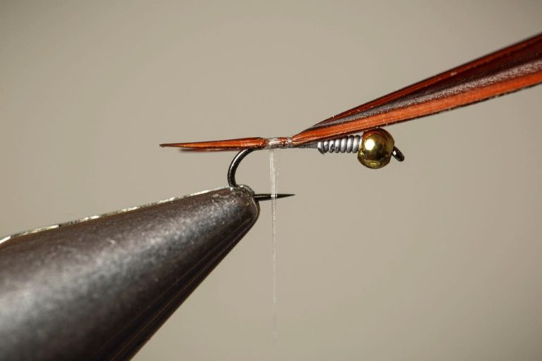 Learn To Tie a Copper John Step 6 part 2