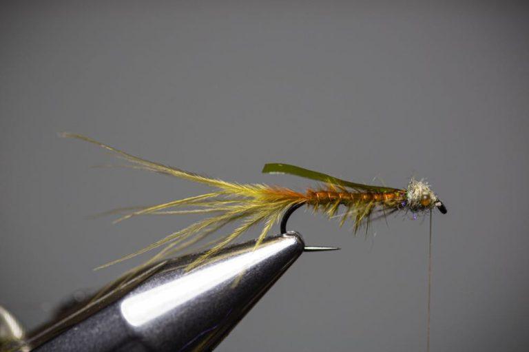 Learn To Tie a Damselfly Larva Step16