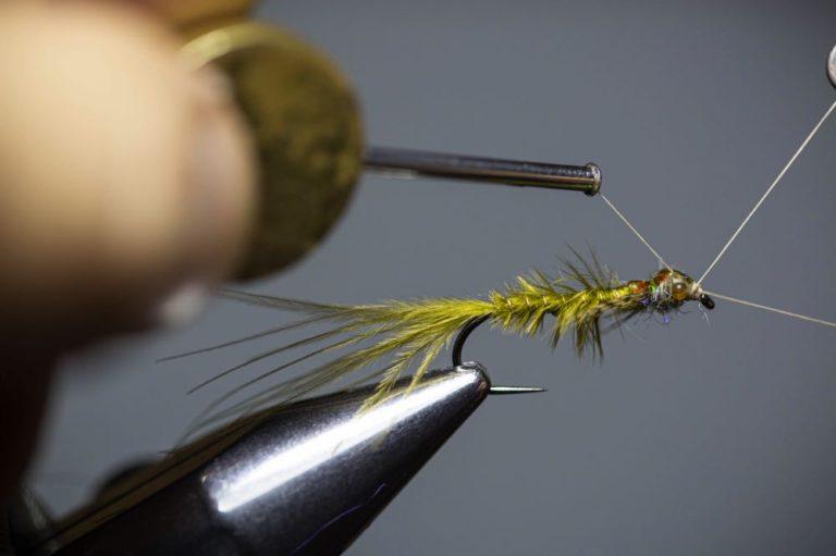 Learn To Tie a Damselfly Larva Step18
