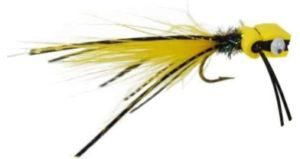 bass popper flies