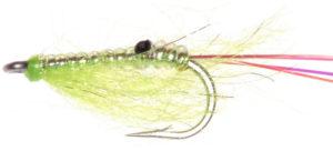 Shrimp Fly Pattern for fishing bass
