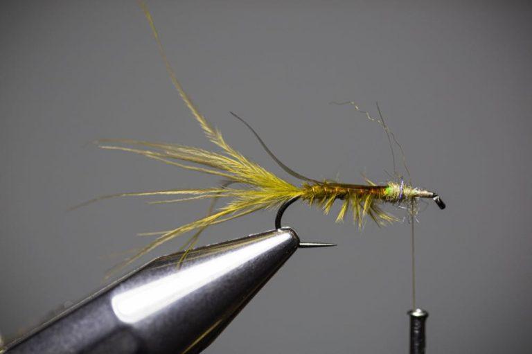 damselfly larva fly tying tutorial Step10