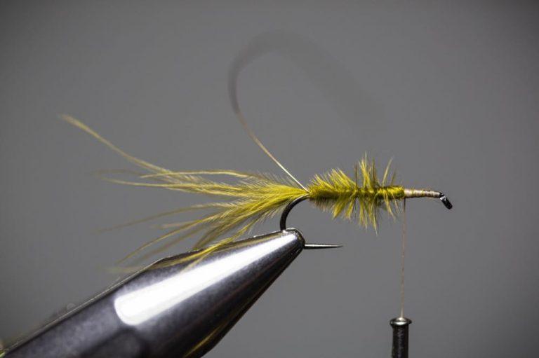 damselfly larva fly tying tutorial Step7