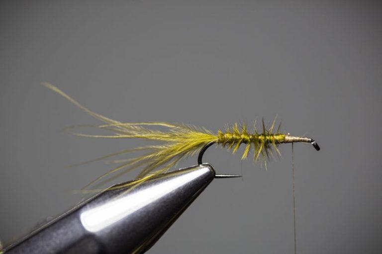 damselfly larva fly tying tutorial Step8