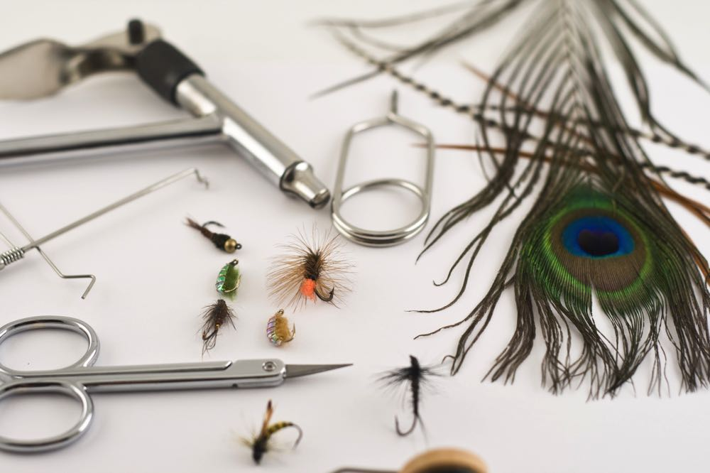 good fly tying hackle pliers and tools