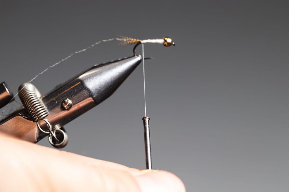 fly with a bead head