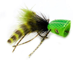 Double Barrel Popper Fly Pattern