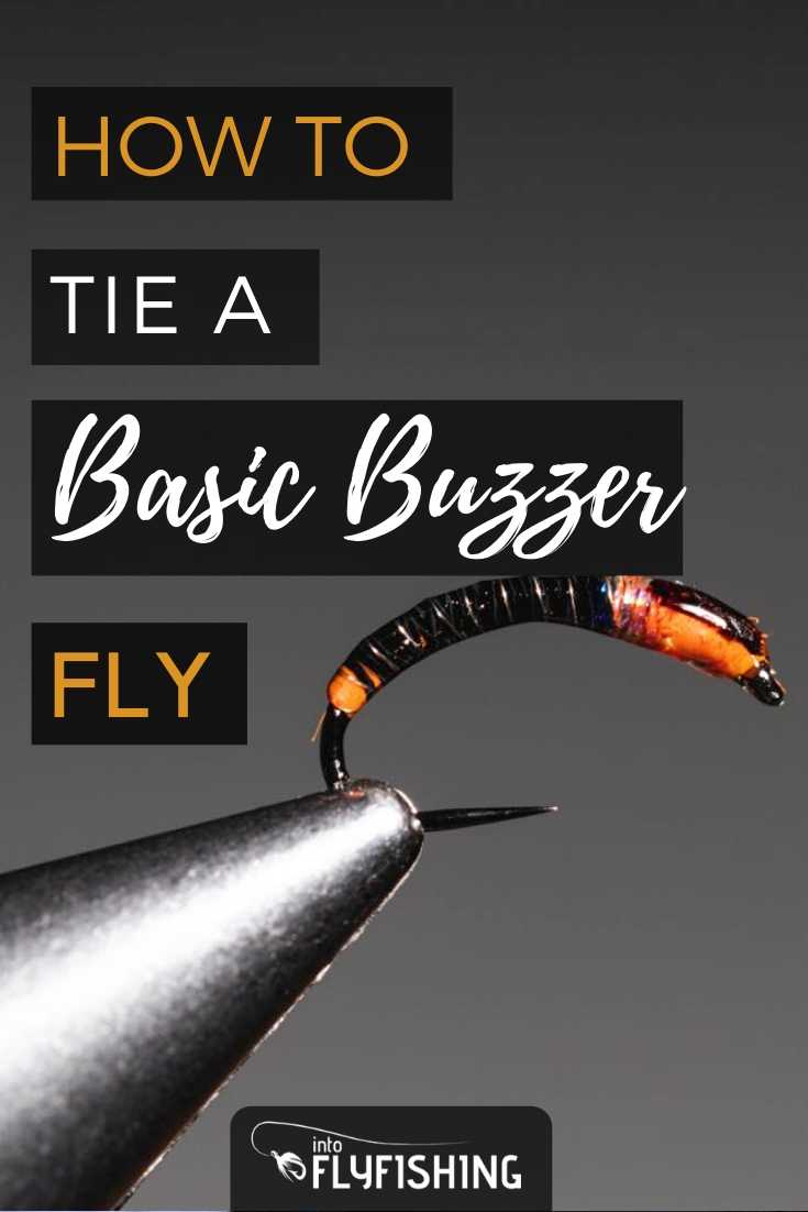 How to Tie a Basic Buzzer Fly