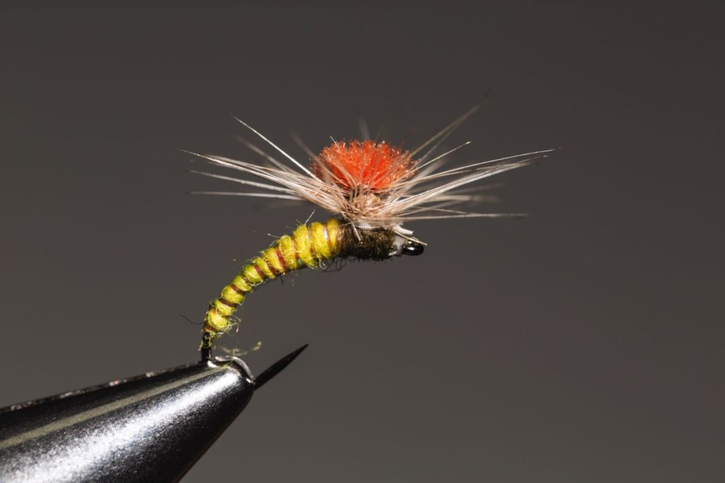 How to tie a Klinkhammer - Klinkhammer_complete_fly