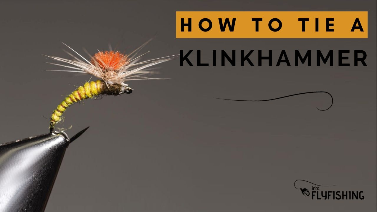 how to tie a klinkhammer fly - YouTube Thumbnail