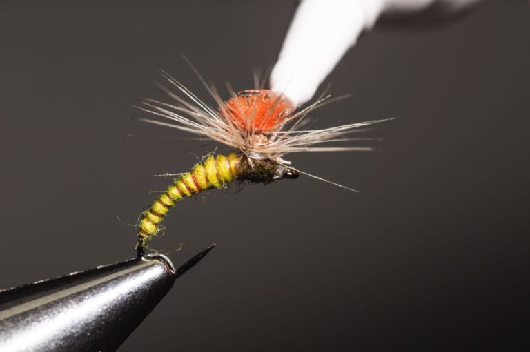 how to tie the Klinkhammer fly _step-20