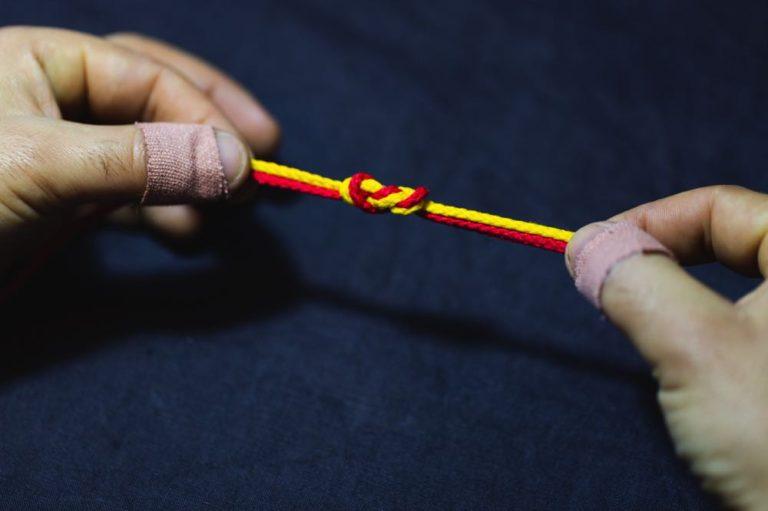surgeon's knot_step6