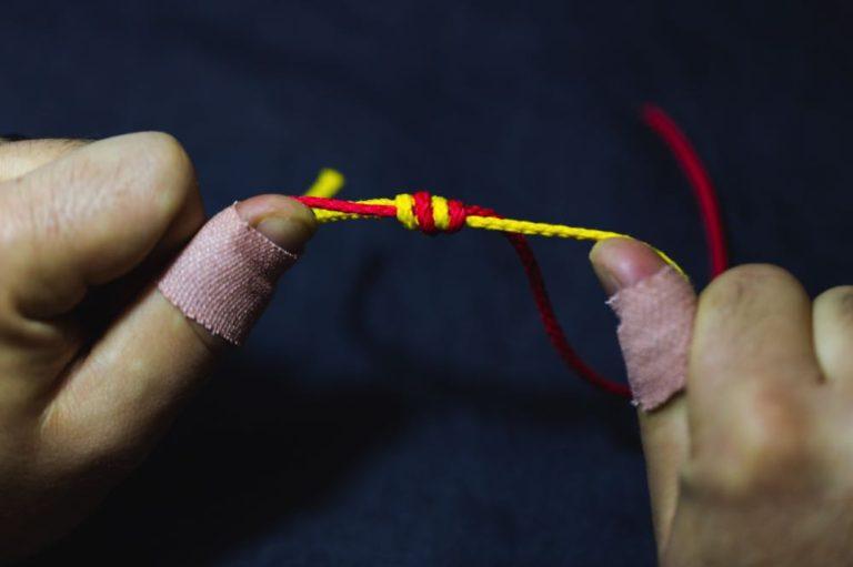 surgeon's knot_step7
