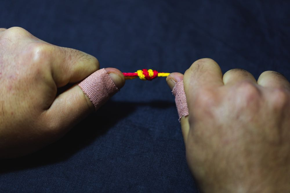 surgeon's knot_step9