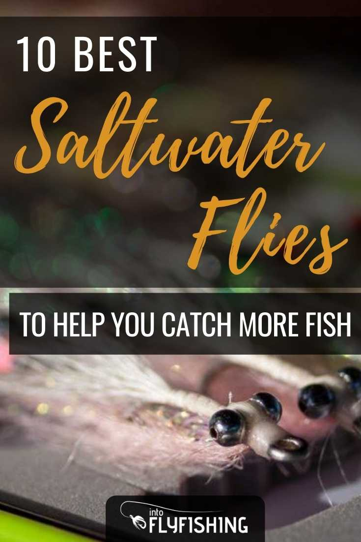 10 Best Saltwater Flies To Help You Catch More Fish