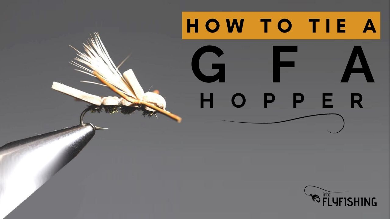 How To Tie a GFA Hopper - YouTube Video Thumbnail