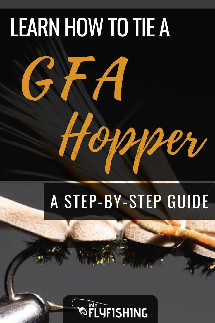 Learn How to Tie a GFA Hopper (Step-By-Step With Video)