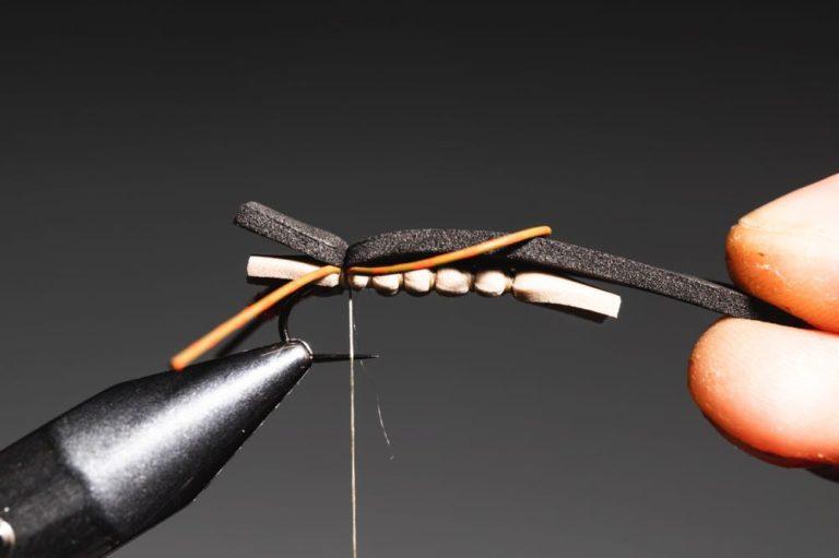 chernobyl ant fly tying tutorial - step11