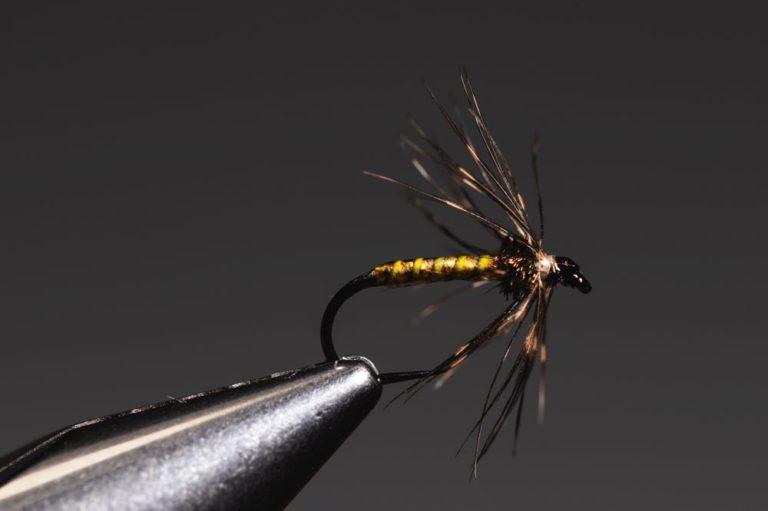 Finished soft hackle fly (step 16)