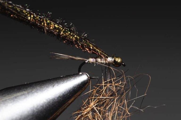 Gold Ribbed Hare_s Ear step-13 fly tying tutorial