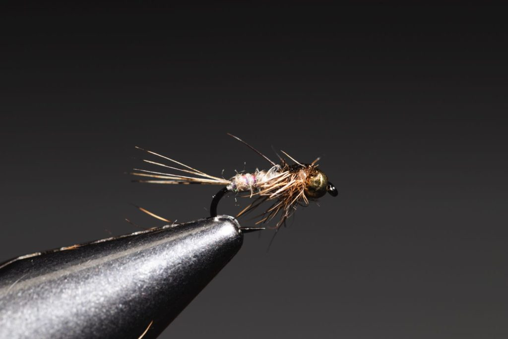 Gold Ribbed Hare's Ear Fully Tied Finished Fly