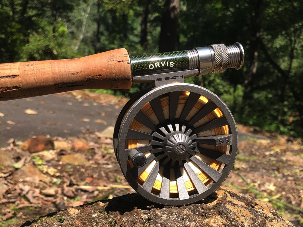 Redington Behemoth Material Review Reel on Rod