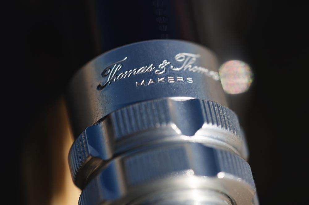 Thomas & Thomas Zone Reel Seat Engraved