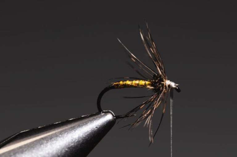 fly tying tutorial - soft hackle-14
