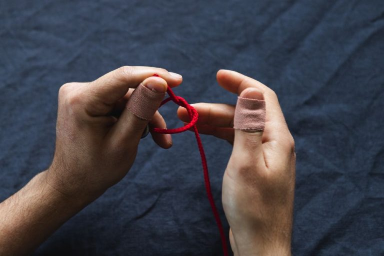 davy fly fishing knot tutorial step 4
