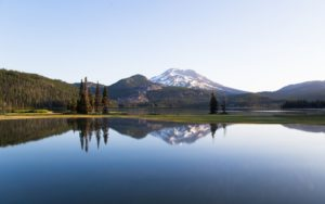 A beautiful lake in Bend, Oregon
