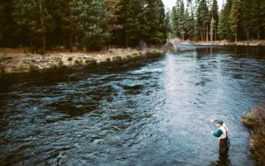 Bend fly fishing