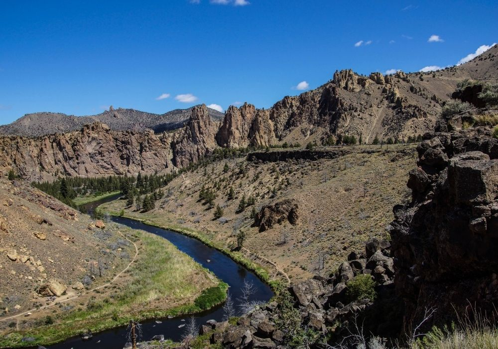 Fly fishing Crooked River in Bend, Oregon