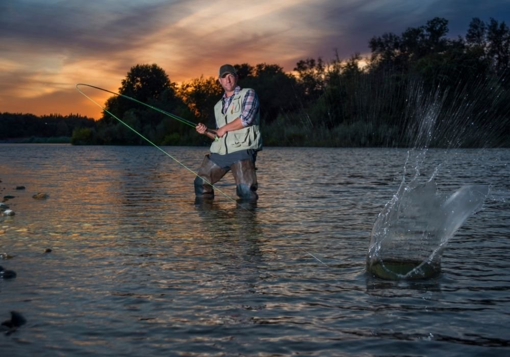 Lester River fly fishing