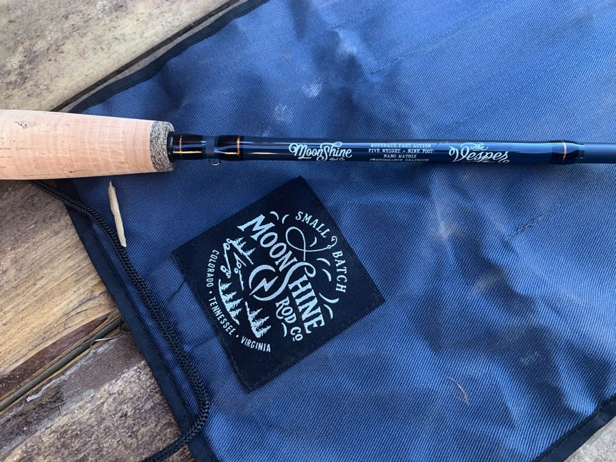 Moonshine Vesper Fly Rod Review case and sleeve