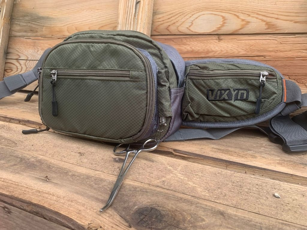 VIXYN Fly Fishing Waist Pack for fly angler