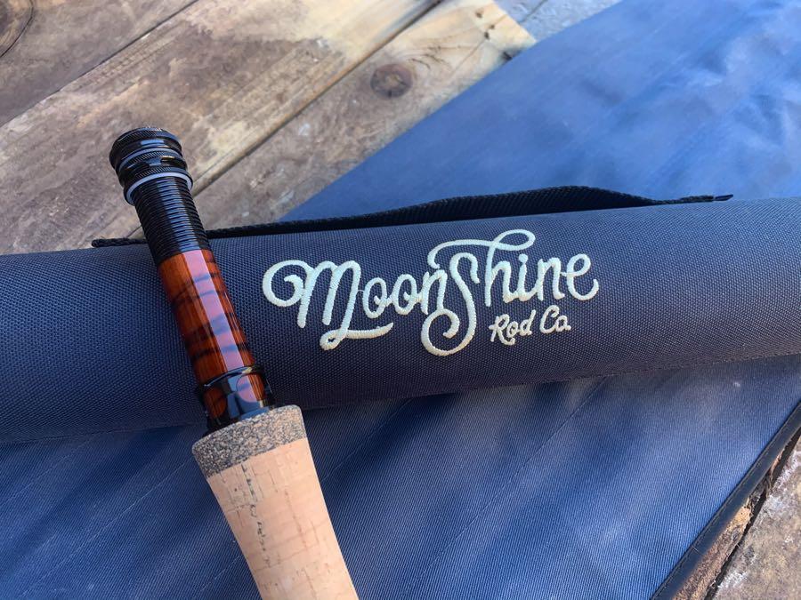 moonshine Vesper rod review rod and case