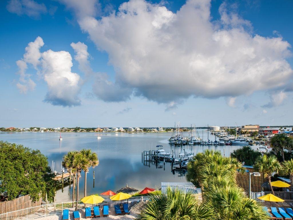 the beautiful Pensacola in florida