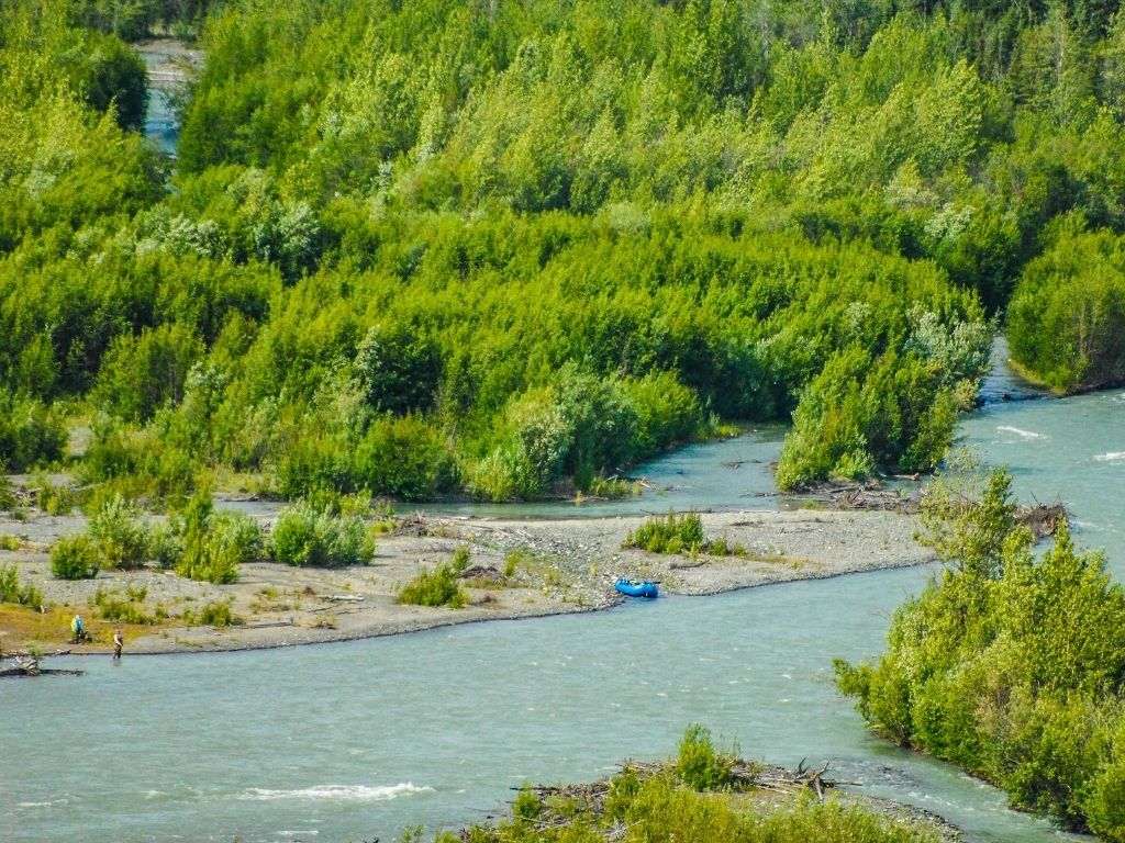 Alaska fly fishing season
