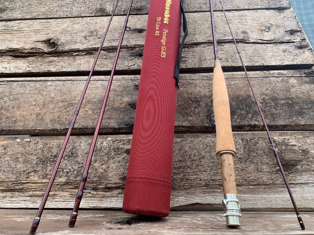 a set of snowbee fly rods