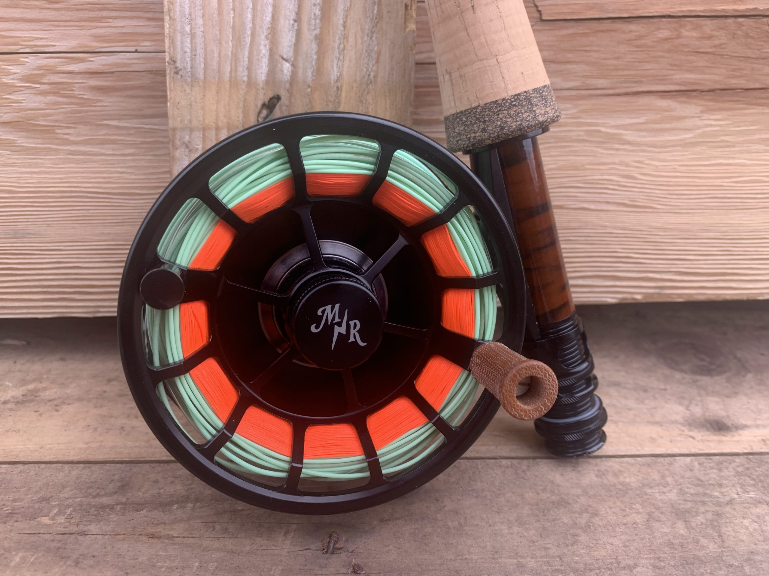close up of a Moonshine Rod Co. 5-6 Creede Reel review