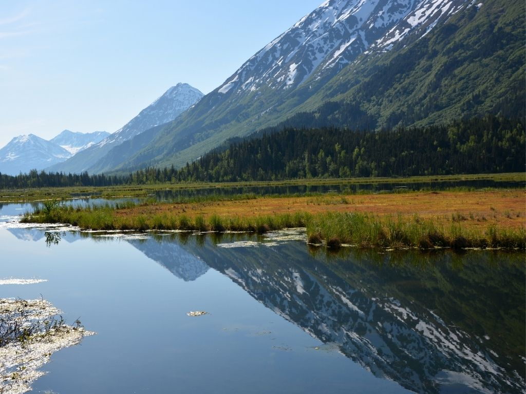 fly fishing Kenai River Alaska