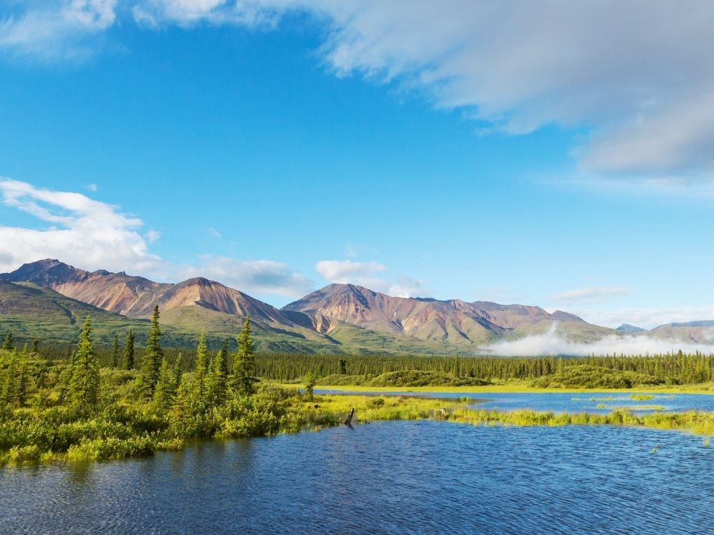 fly fishing lakes in Alaska